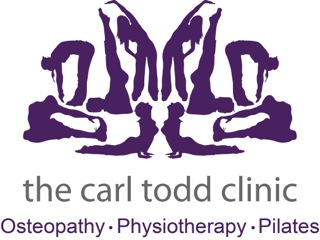 the carl todd clinic logo sans font